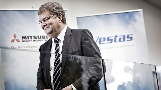 Vestas præciserer forventningerne og køber aktier tilbage for 1,5 milliarder