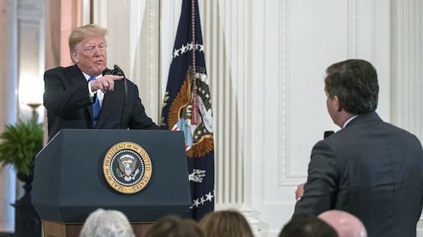 CNN lægger sag an mod Trump-administrationen