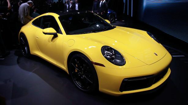 Porsche advarer britiske kunder om prisstigning på 10 pct. ved hårdt brexit