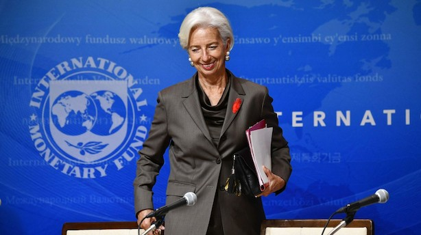 Christine Lagarde træder officielt af som IMF-formand i september