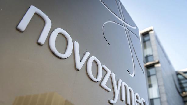 Novozymes skuffer på både indtjening og omsætning