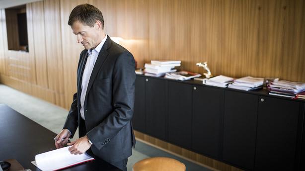 Konstant fald i Danfoss-vækst syv kvartaler i træk: Nu er den på  0 - topchef er forberedt på tilbagegang i år