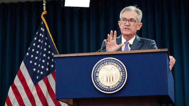 Fed's rentesænkning i juli var en vækstforsikring