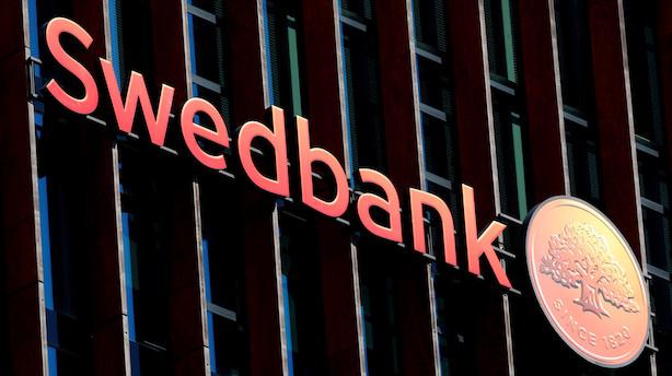 Swedbank smider 3 pct efter udsigt til efterforskning i USA