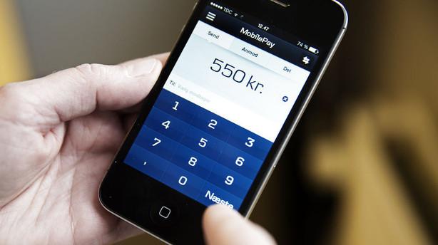 MobilePay slår rekord - 2 mia. kr. i overførsler i september