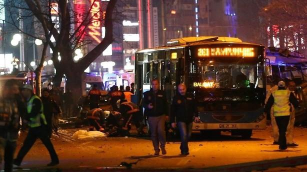 Øjenvidner: Det er forfærdelige scener efter Ankara-bombe
