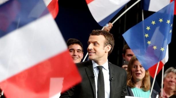 Præsidentfavorit vil genindføre Frankrigs værnepligt