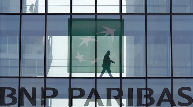 Fransk storbank hentede fremgang i udlandet og blandt storkunder