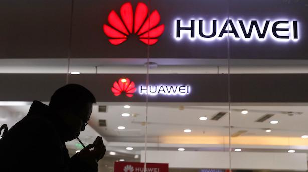 Huawei er Kinas største globale brand: Afviser spekulationer om skjult støtte fra den kinesiske regering
