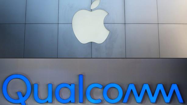 Aktier USA: Lille stigning på vej mod toppen - Qualcomm i vildt kursryk efter Apple-forlig