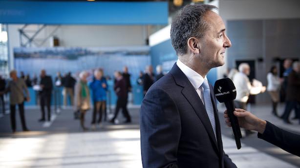 Mærsk-formand køber aktier for lige under 1 mio. kr.