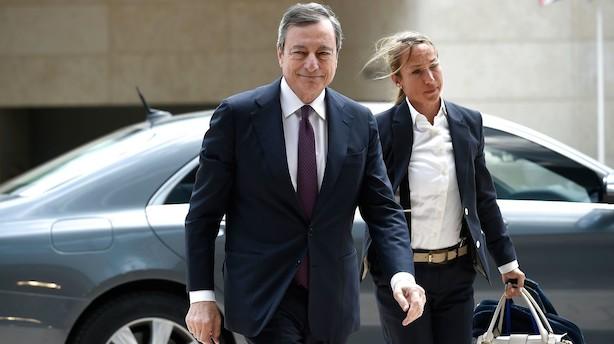 Analyse: Draghi løfter aktierne og sender renterne ned med nyt løfte om slagkraftig ECB