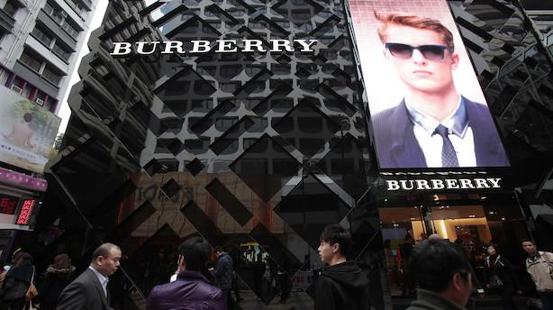Aktieluk i Europa: Burberry til tops - flyaktier i hopla