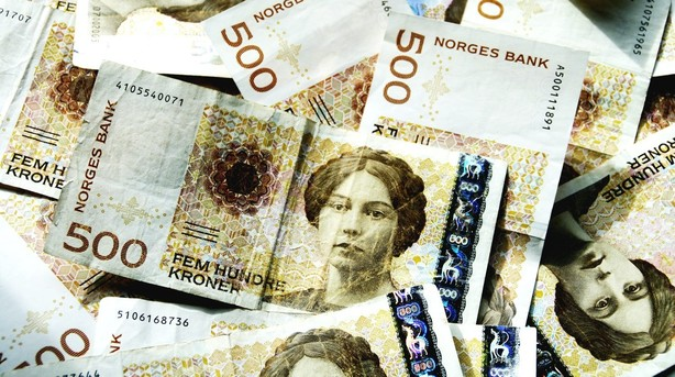 740 mia oliedollar i spil i norsk valg