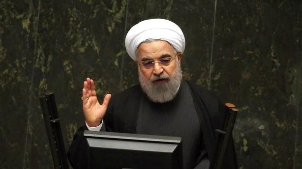 Irans pr�sident ser frem mod ny tid