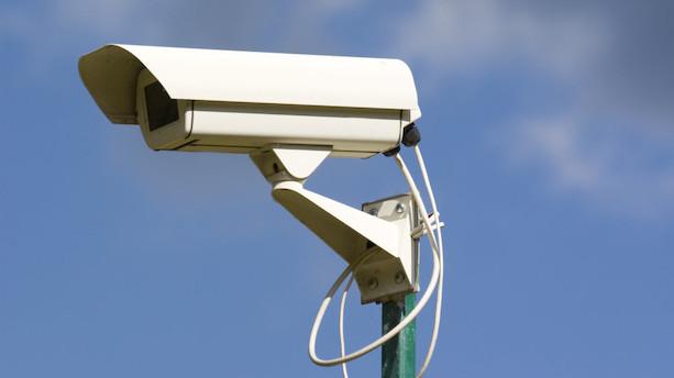 Optagelser fra private overvågningskameraer kan ses live