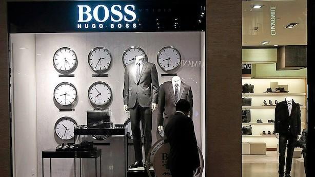 Hugo Boss opjusterer og aktien banker i vejret