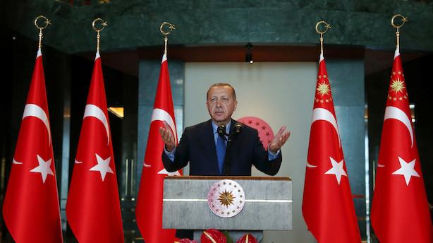 Danske Bank: Erdogans budskab får liraen til at miste pusten
