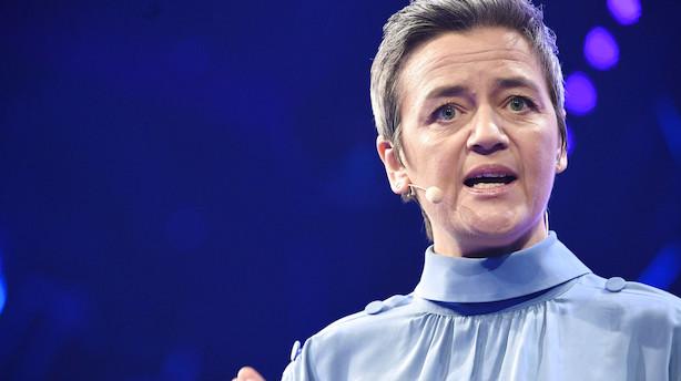 Margrethe Vestager slår til igen mod en gigant: Kaster sig over Nikes skattevilkår i Holland