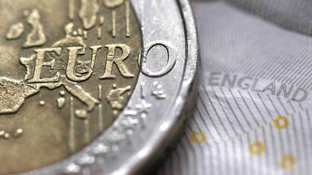 """Valuta: Pund står til øretæver i tilfælde af """"no-deal"""""""