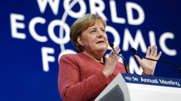 """Merkels tyske vækstmotor kører stadig i frigear: """"Dagens tal er en skuffelse"""""""