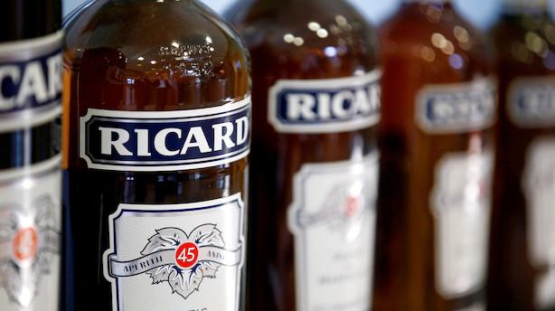 Coronavirus får fransk spiritusproducent til at sænke forventningerne