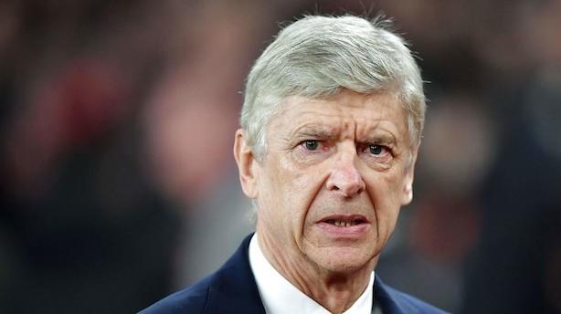 Arsène Wenger stopper i Arsenal efter 22 år
