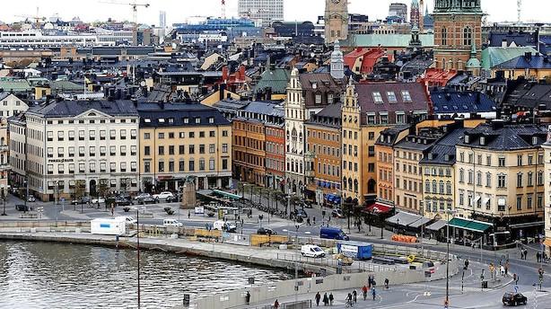 """Boligsalg i Sverige bremser hårdt op: """"Risiko for større prisfald i Stockholm, Göteborg og Malmø"""""""