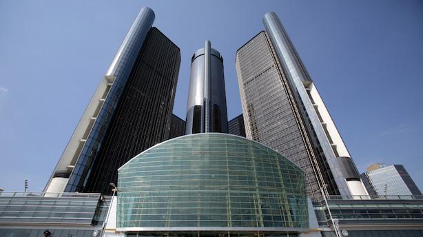 General Motors tilbagekalder en million biler grundet defekt