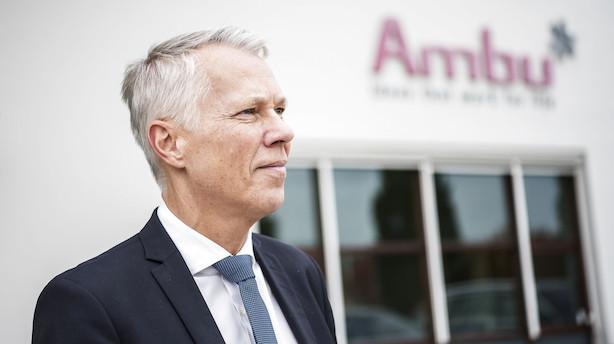 Aktier: Ambu og Bavarian de store tabere i rødt C25