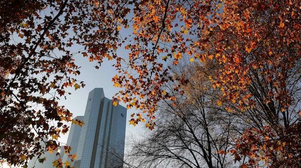 Deutsche Banks hovedkvarter ransaget af politiet - aktien dykker