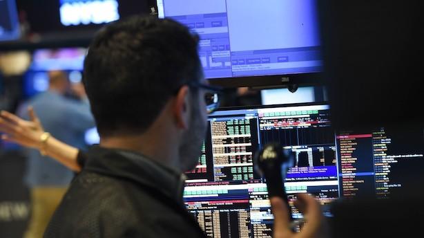 Aktier: Tung start afløst af let stigning