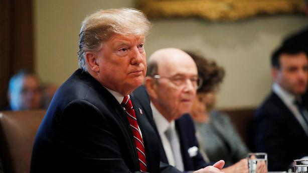 Trump ser nødig ny nedlukning trods uenighed om grænseaftale