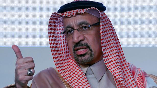 Råvarer: Oliepriserne stiger efter Saudi-udmelding