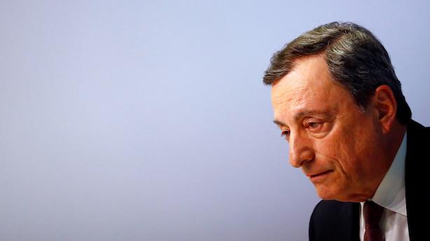 Nordea venter større pakke af lempelser fra Draghi: Opkøbsprogram bliver genstartet i september