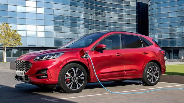 Ford går i offensiv med elektrificerede biler