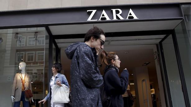 Spansk modekoncern rammer tæt på analytikernes estimater
