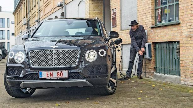 Strøm er perfekt til en Bentley