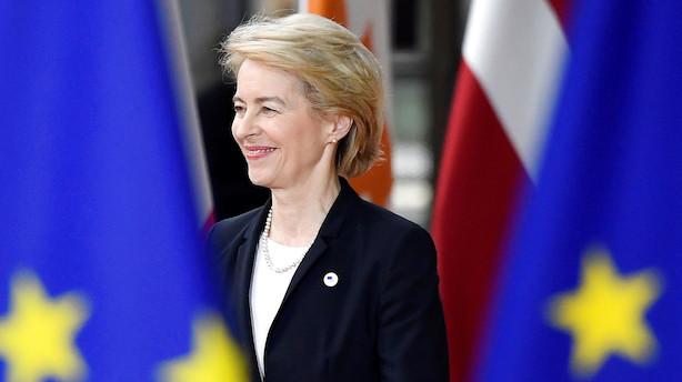Ny EU-Kommission klar til afstemning i EU-Parlamentet