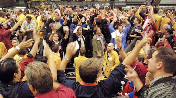 Aktier: Amerikansk frygtindeks stadig på lavt niveau trods markant hop