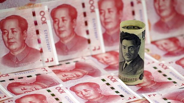 Aktier: Blandet handel i Asien med plus i Japan takket være svækket yen