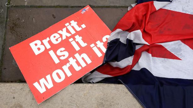 Briterne betaler regning for EU-nej – laveste vækst siden finanskrisen