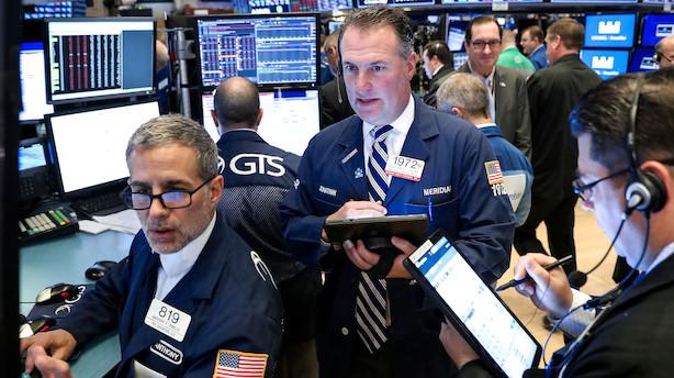 Aktiestatus i USA: Opblødning løfter aktier - it-selskaber i top
