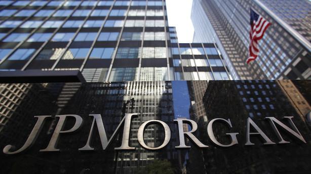 Aktieluk i USA: Rekorderne tog en pause mens bankregnskaber kom i fokus