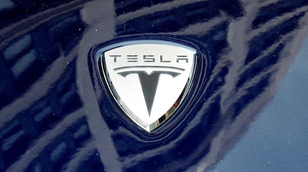 Aktieåbning i USA: Tesla brager ned i negativt marked efter regnskab