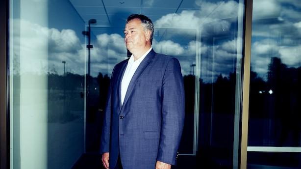 """Novozymes direktør under pres efter tre nedjusteringer på et år: """"Det er noget øv"""""""
