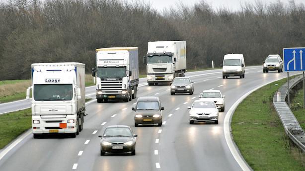 Politisk flertal tæt på lønaftale til vognmænd: