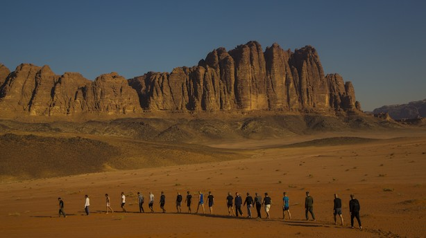 Mænd, sved og tårer: Nyhedschefens dagbog fra digtialt detox-retreat i Jordans ørken