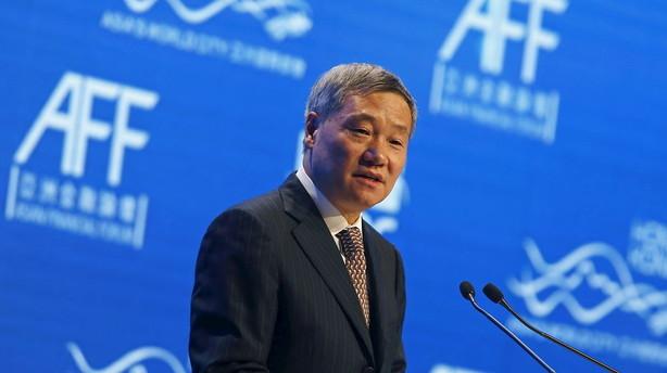 Kinesiske aktier sammenlignes med lodsedler