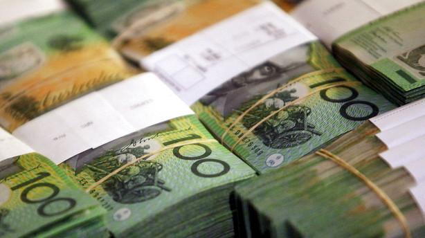 Valuta: Økonomisk rapport styrker Australiens dollar